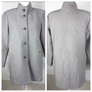 Geiger Pure New Wool Austria Button-up Peacoat